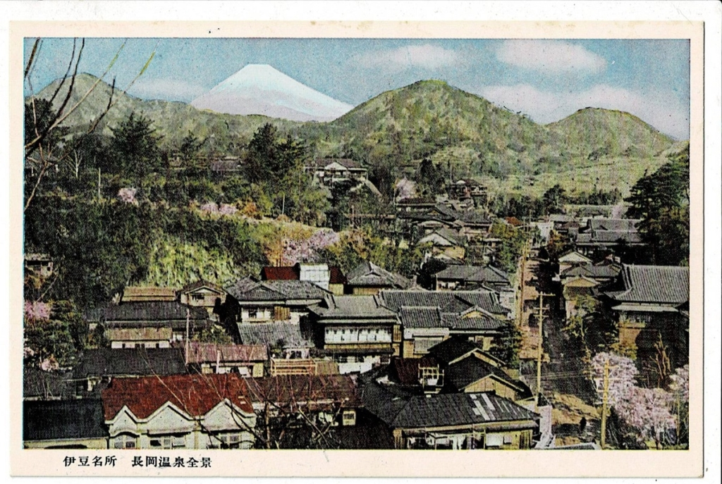 長岡温泉全景