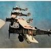 フランス空軍の編隊飛行 少年倶楽部付録