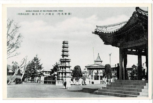 京城パゴダ公園(寒水石佛塔)