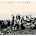 谷浜海岸ニ於ケル海水浴(其ノ三)