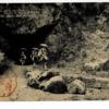日本八景 室戸岬の霊蹟、御蔵洞(西の岩屋)