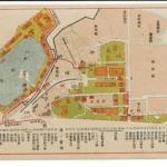 平和記念東京博覧会々場配置図
