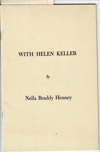 With Hellen Kellar